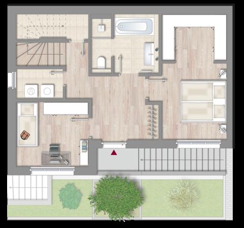Wohnung 1 - Obergeschoss